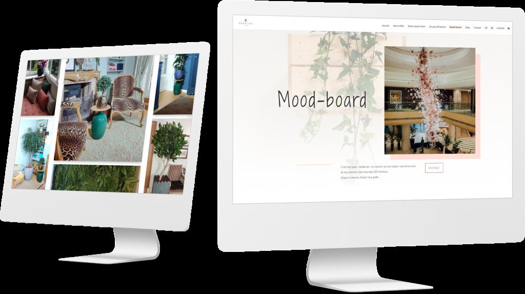 Moodboard Vegetal Trend