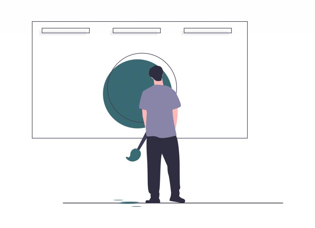 Création d'un nouvel interface web design